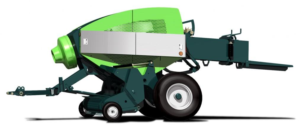 農業機械(インラインベーラー)